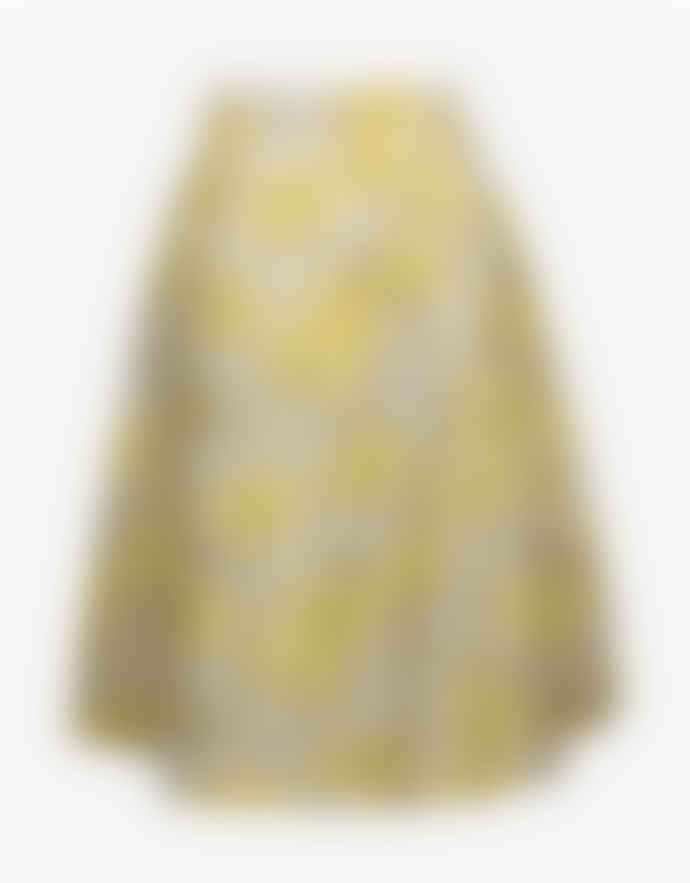 Baum und Pferdgarten Yellow Polyester Floating Flowers Satinka Skirt