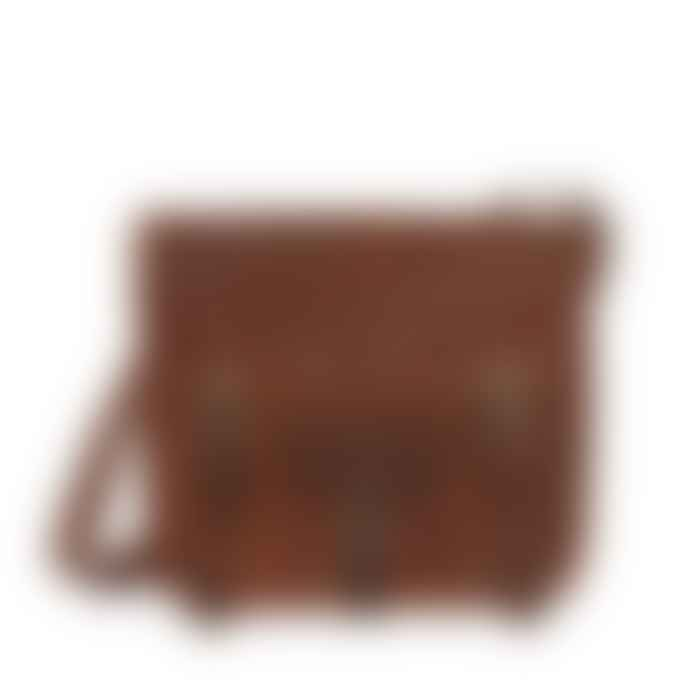 Vida Vida Midi Leather Satchel