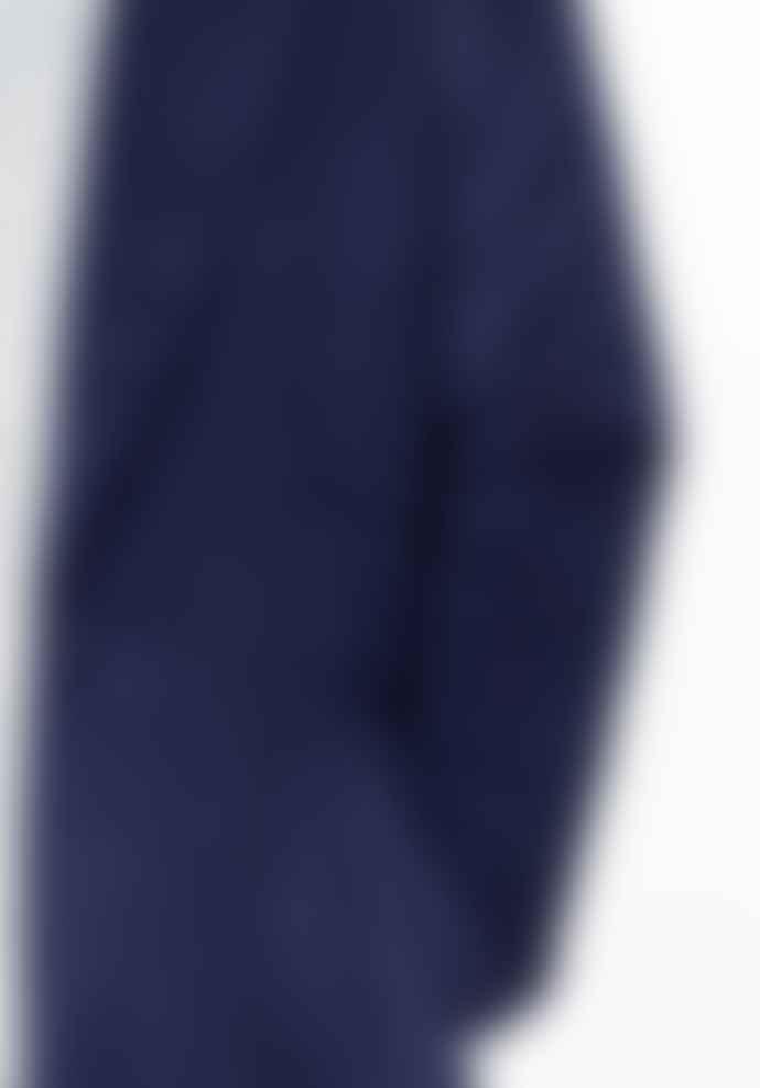 Paisie Navy Wool Coat