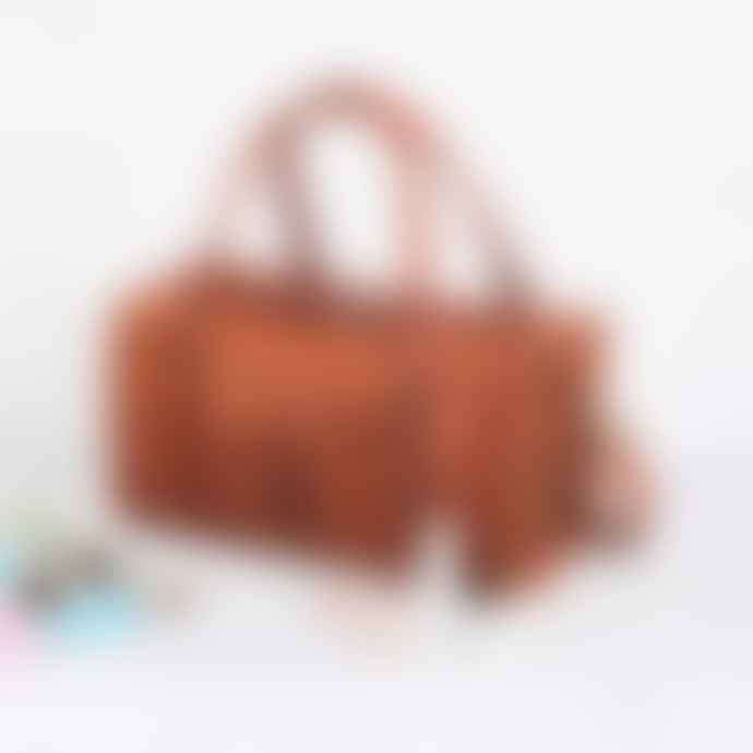 Vida Vida 18 Inch Leather Duffel Bag