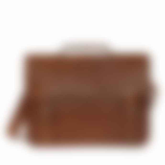 Vida Vida Medium Leather Laptop Bag with Handle