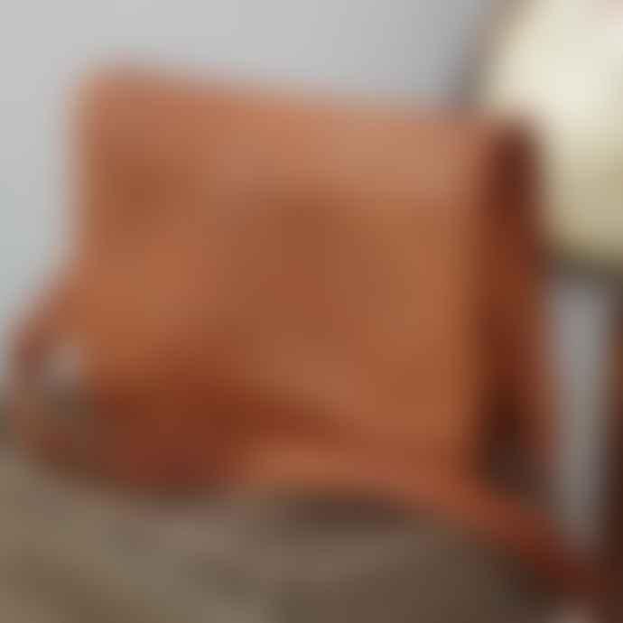 Vida Vida Large Leather Messenger Bag