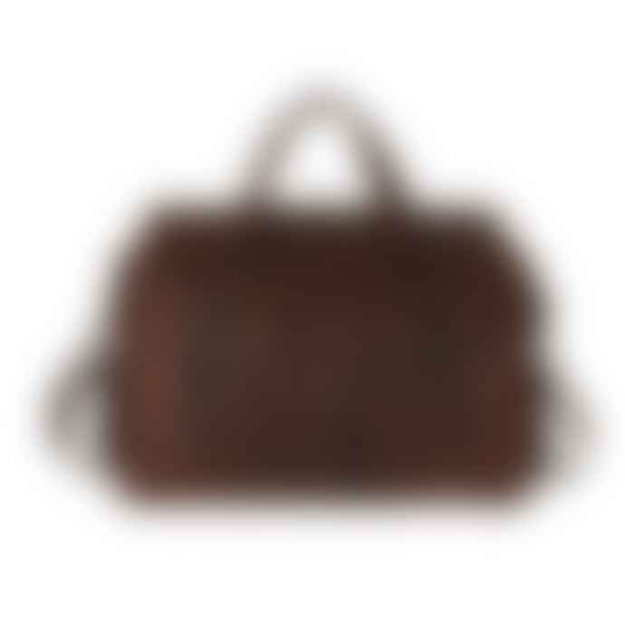 Vida Vida Extra Large Leather Weekend Travel Bag