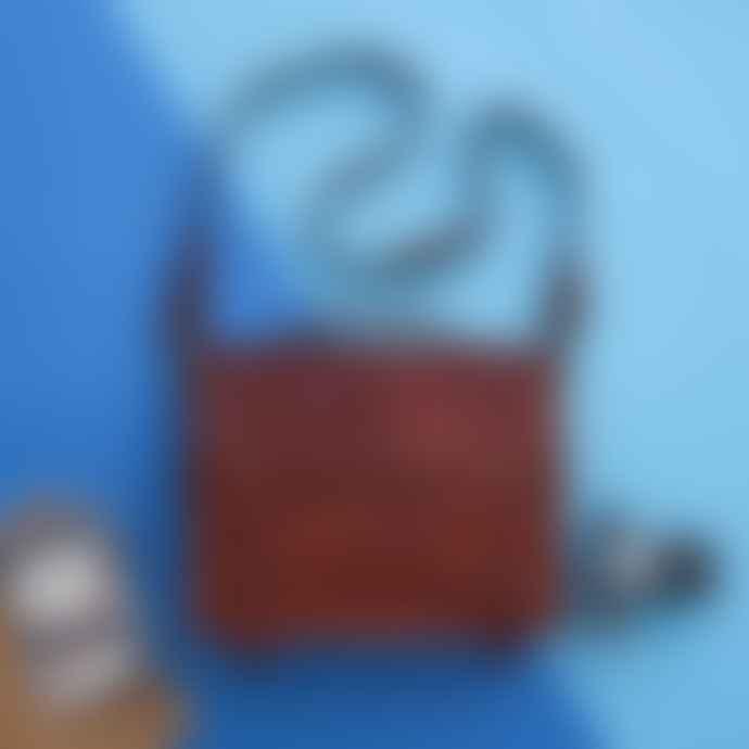 Vida Vida Vintage Leather Business File Bag