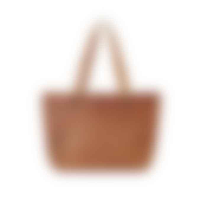 Vida Vida Vintage Style Leather Tote Bag
