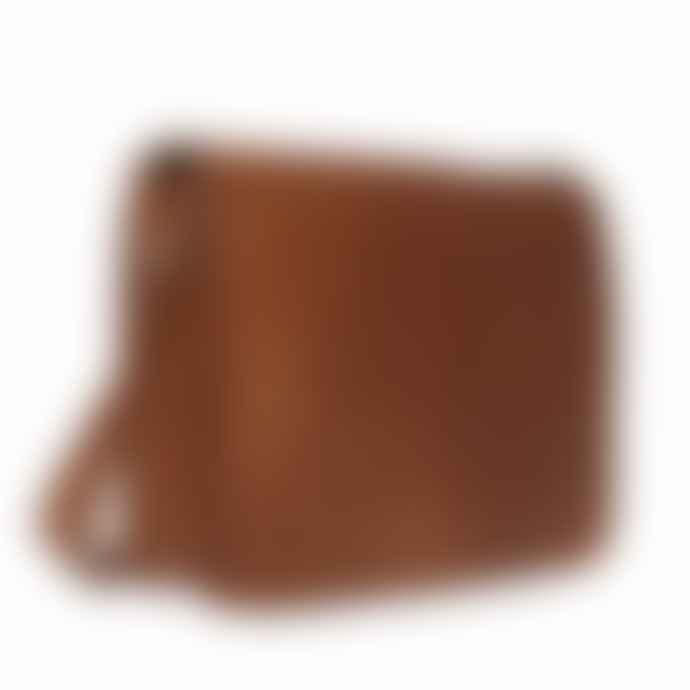Vida Vida Grande Leather Messenger Laptop Bag