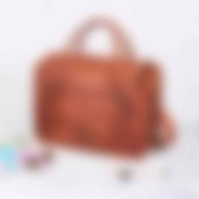 Vida Vida Large Leather Weekend Bag
