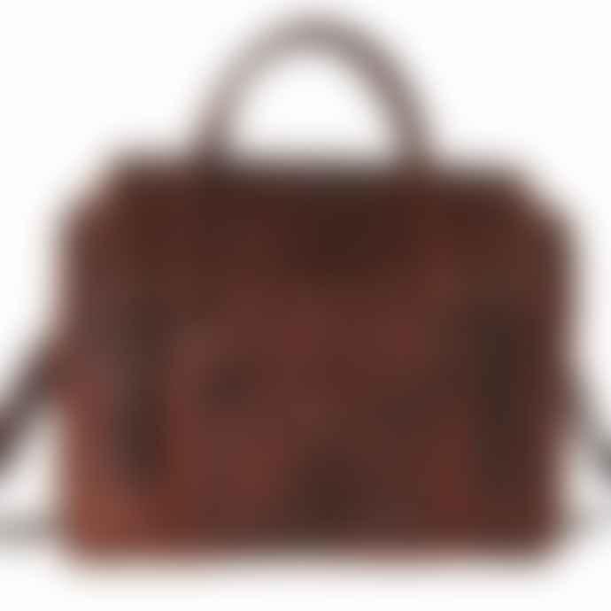 Vida Vida Leather Overnight Bag