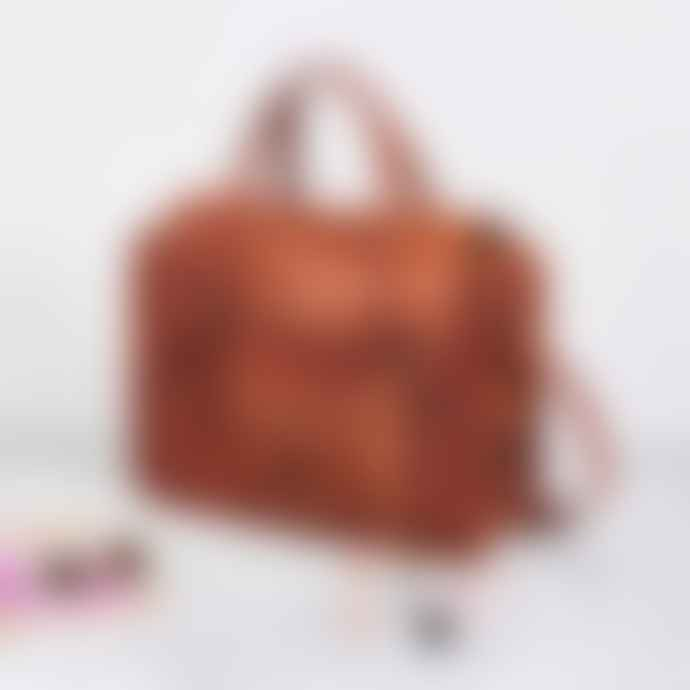 Vida Vida Leather Overnight Bag