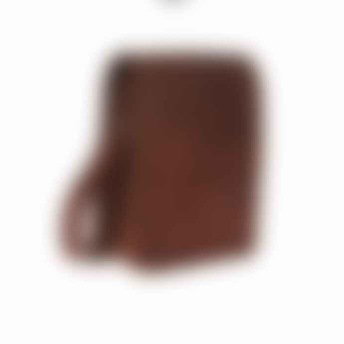 Vida Vida Midi Leather Messenger Bag