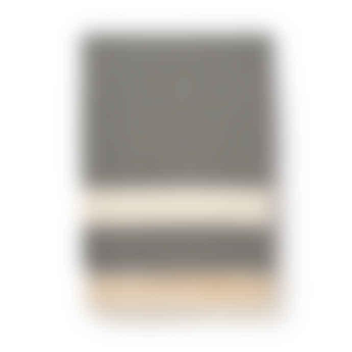 Luks Linen Black Ferah Blanket