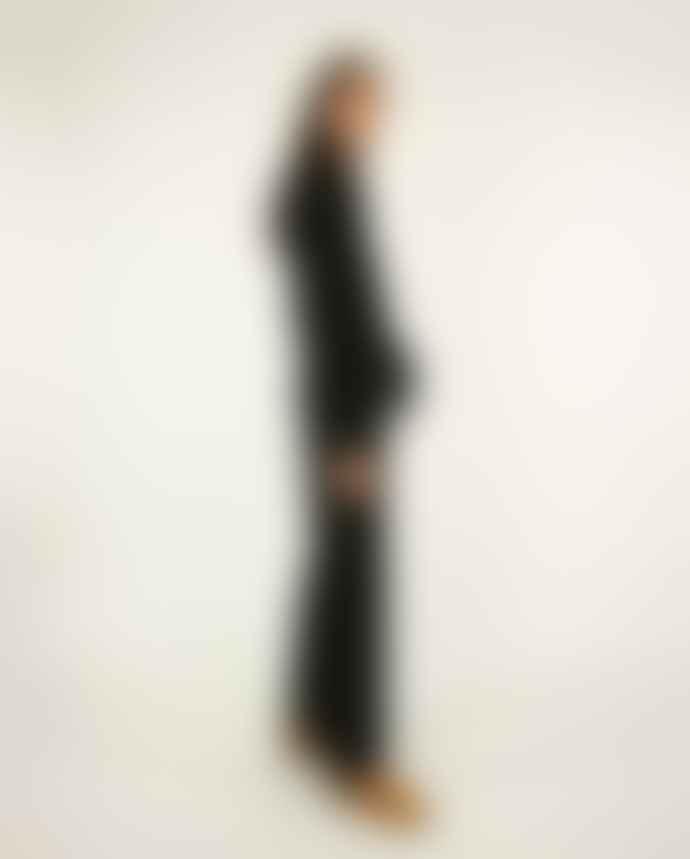 Stine Goya Black Lana Jumpsuit Dots