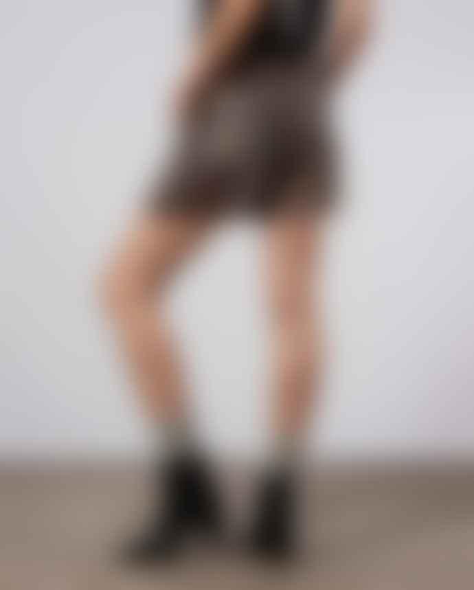 Ganni Cedar Leopard Shorts