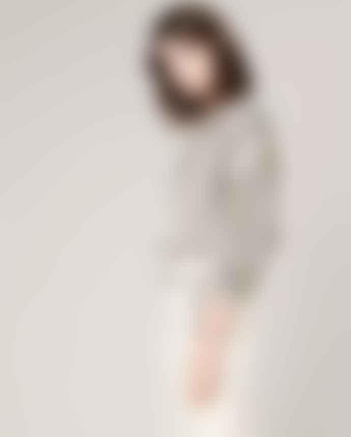 Sessun Beige Artiste Stripe Blouse