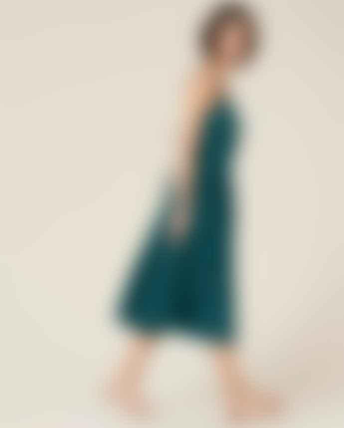 Sessun Deep Lake Anda Dress