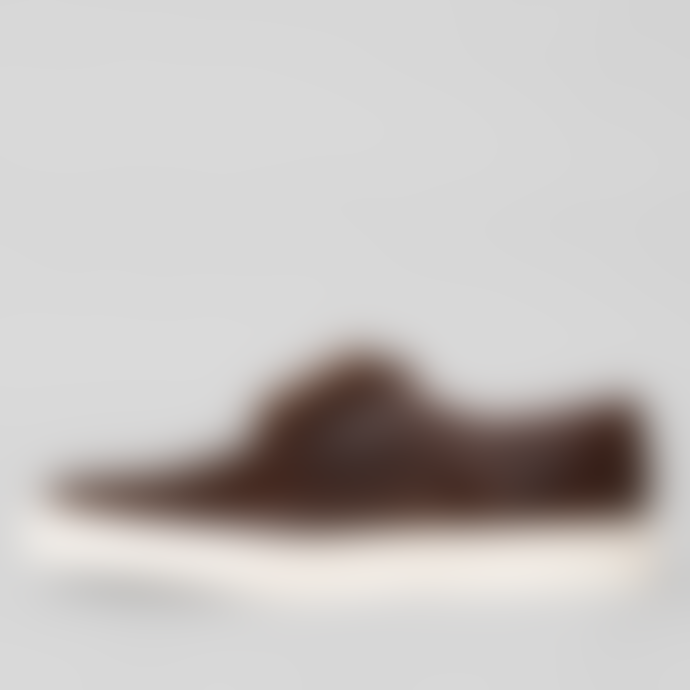 Calce Shoes Chocolate Brown Trenzado Sneakers