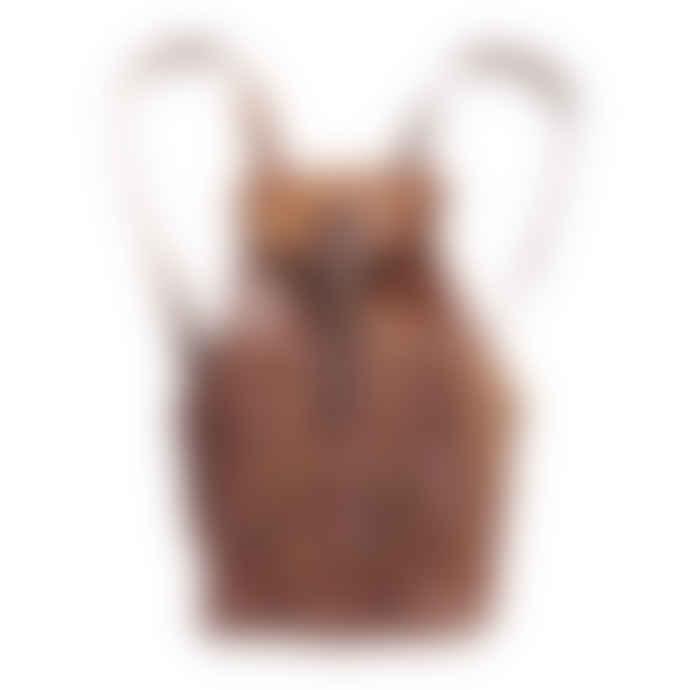 Vida Vida Large Leather Backpack