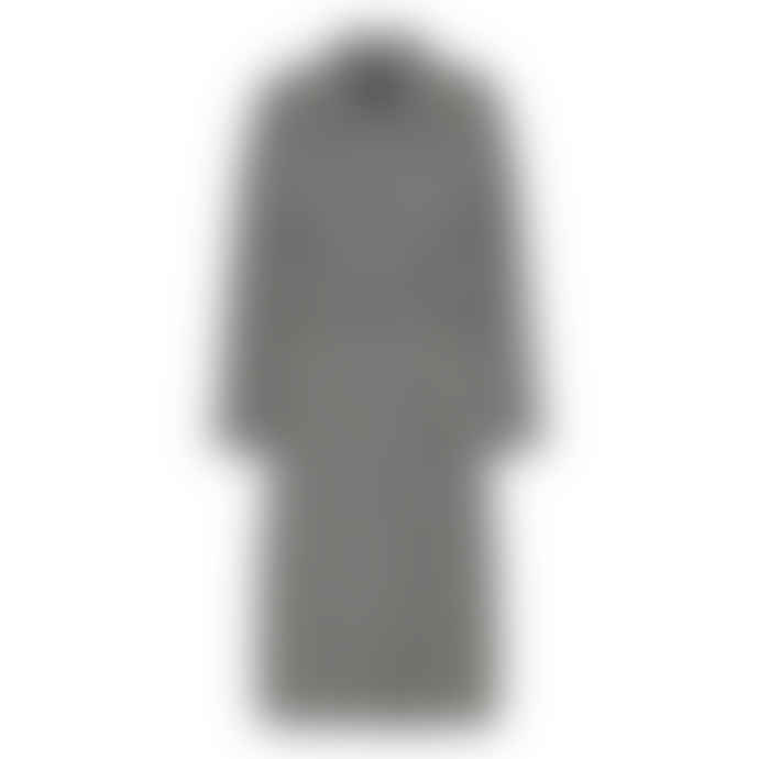 Custommade Polyester Raton Tessa Incense Checked Coat