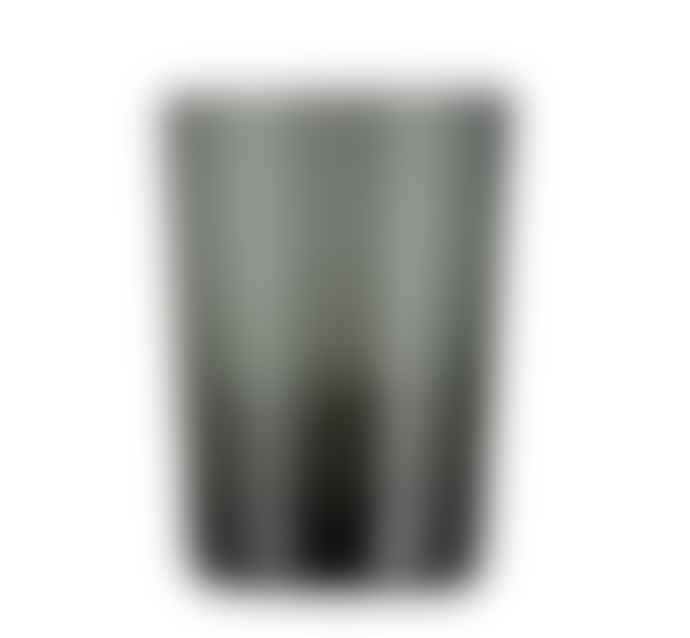 Designed in Colour Charcoal Grey Handblown Glass Tumbler