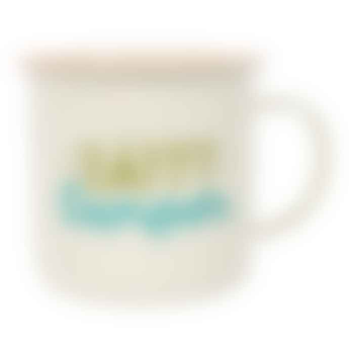 Something Different Happy Camper Enamel Mug