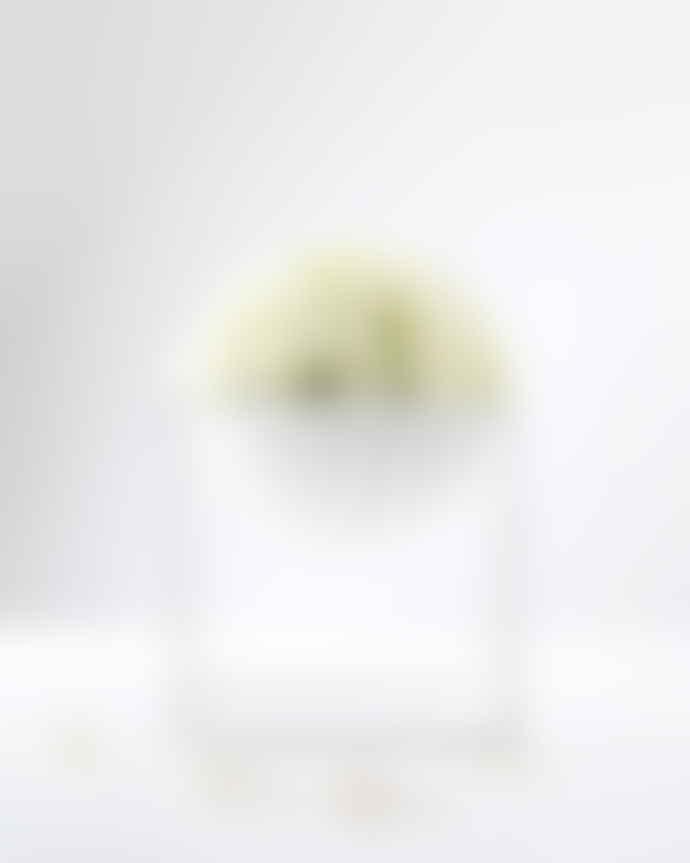 by Lassen Large White Cube Bowl