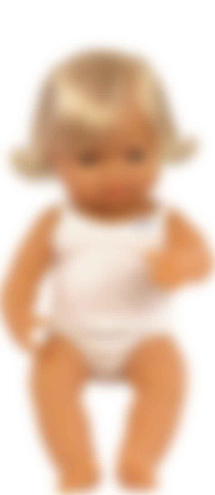 Miniland Caucasian Girl Doll