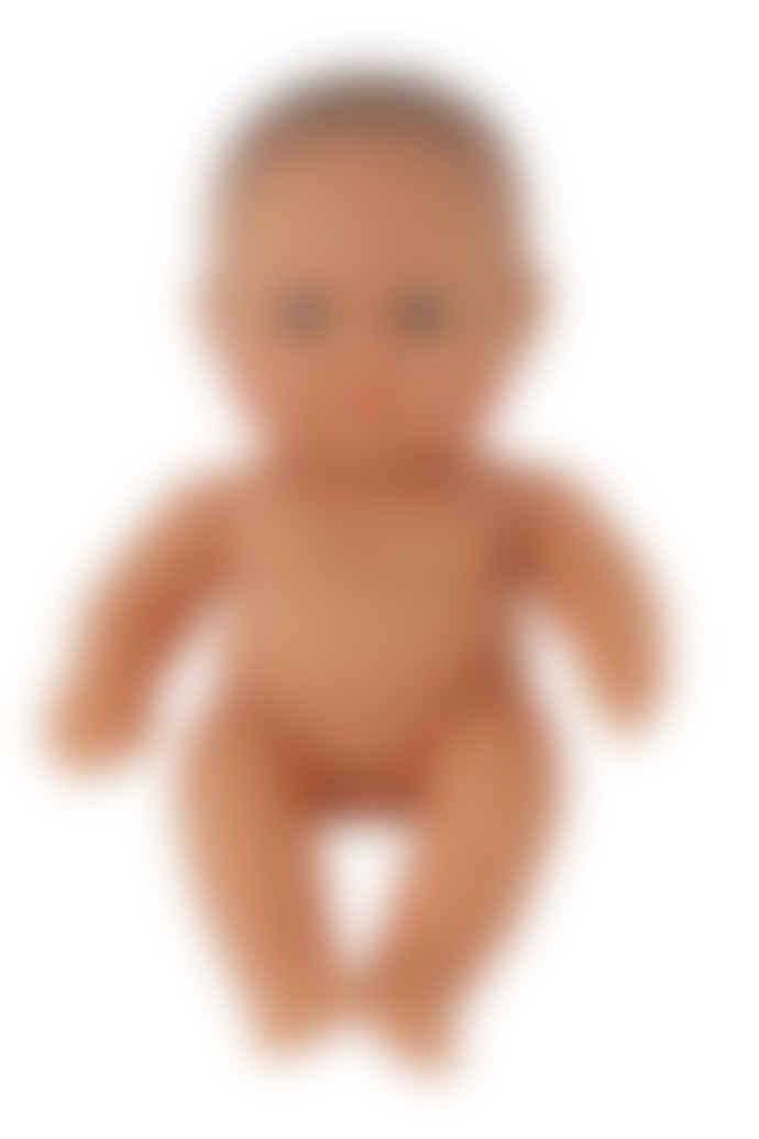 Miniland Caucasian Baby Girl Doll