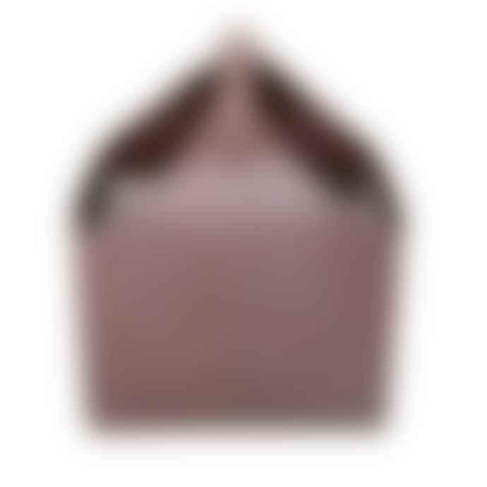 Ørskov Gray Leather Magazine Box