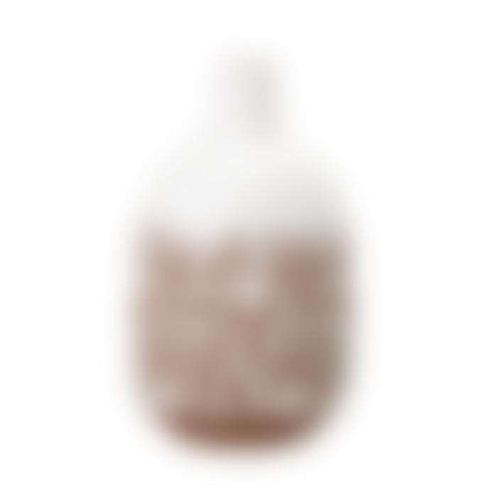Bloomingville White Stoneware Ceramic Vase