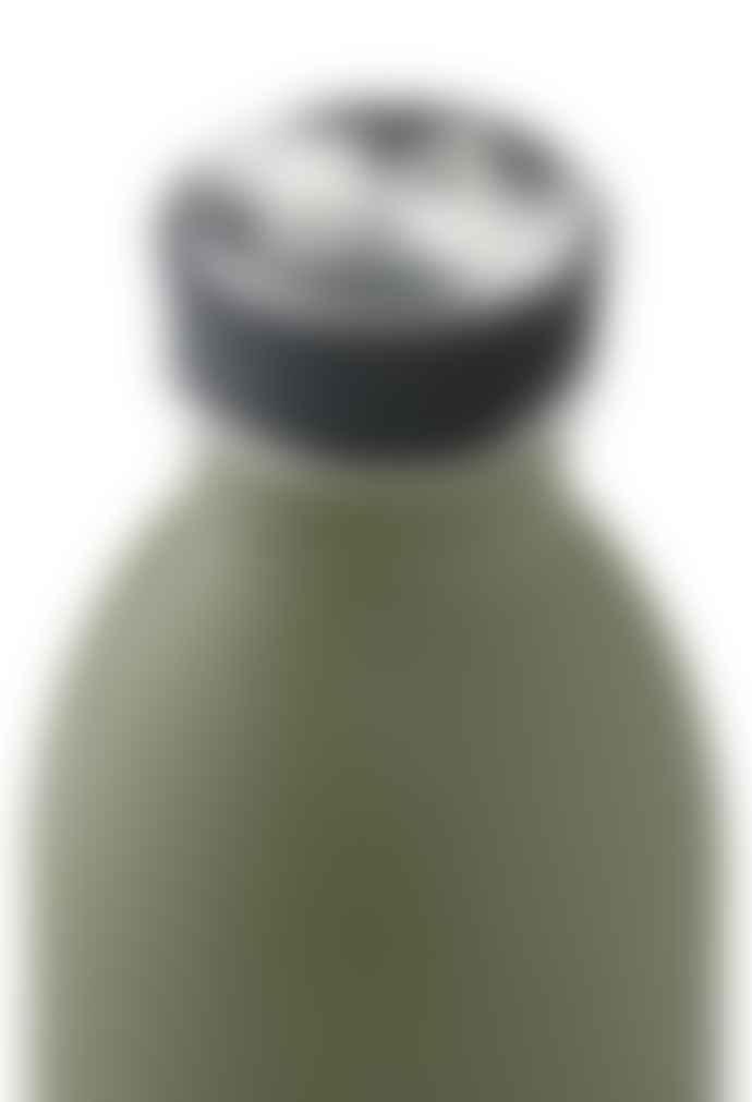 24Bottles 0.5L Sage Green Stone Finish Urban Bottle