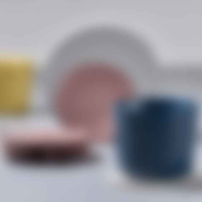 Zone Denmark  Set Of Six Nude Silicone Coasters