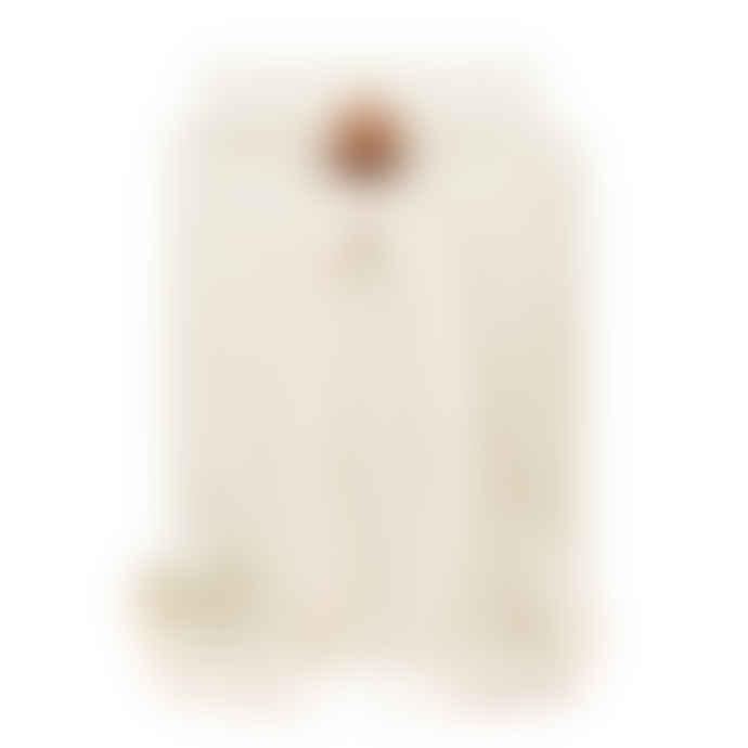 YKRA Matra Mini Cotton Strap Backpack White