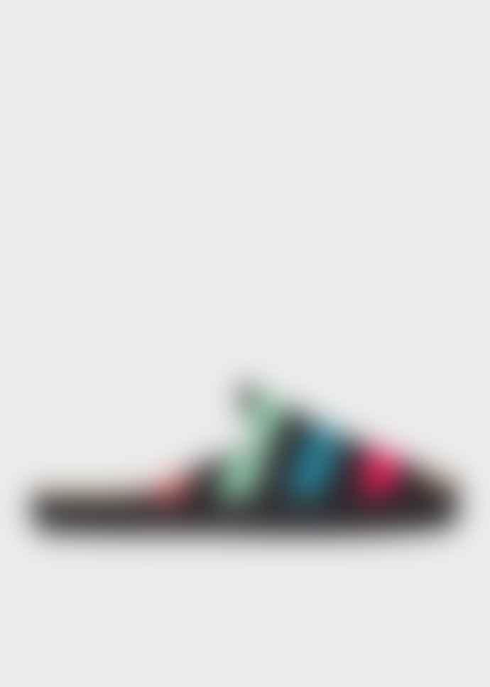 Paul Smith Black Stripe Slip On Espadrilles