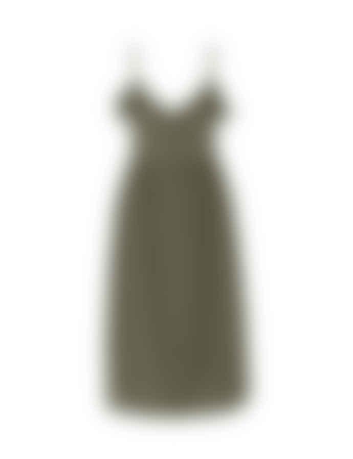 mbyM Khaki Green Gailanna Dress