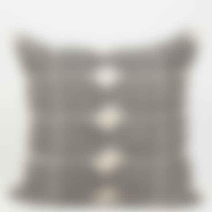 Afroart 50x50cm White Black Tile Cushion Cover