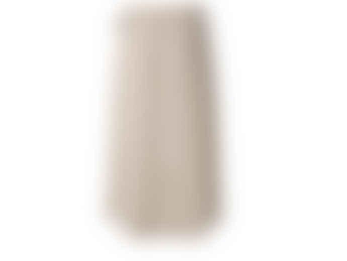 Yaya Pinstripe Midi Wrap Skirt