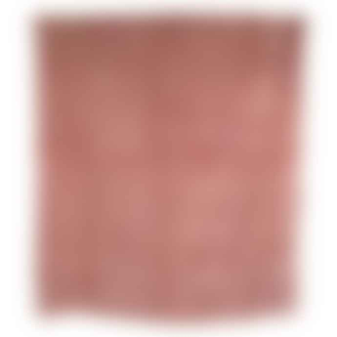 HKliving Dusty Pink Velvet Bedspread