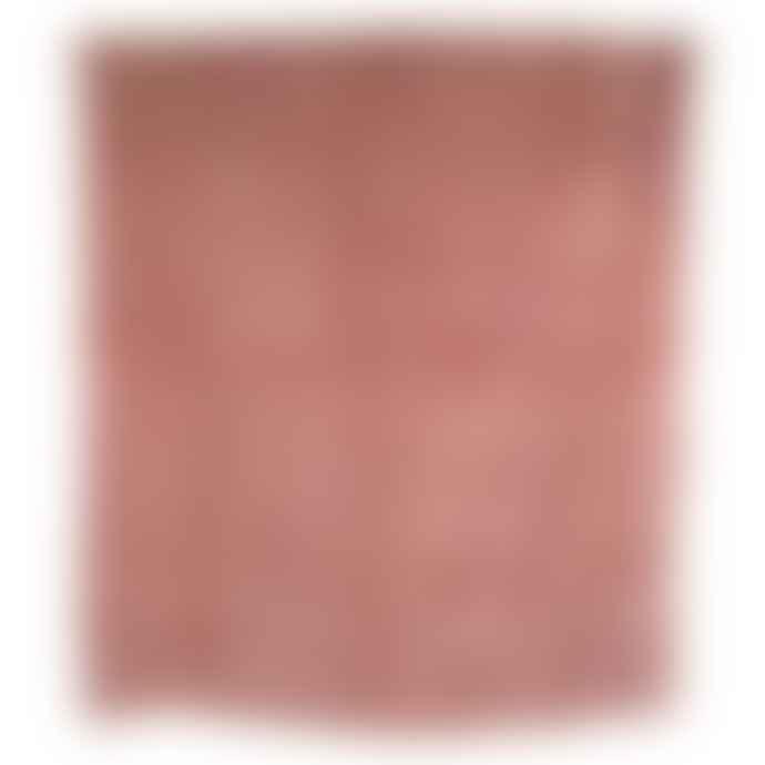 HK Living Dusty Pink Velvet Bedspread