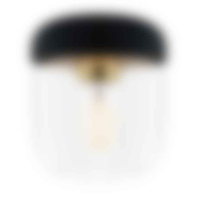 UMAGE Black Brass Acorn Lamp Shade