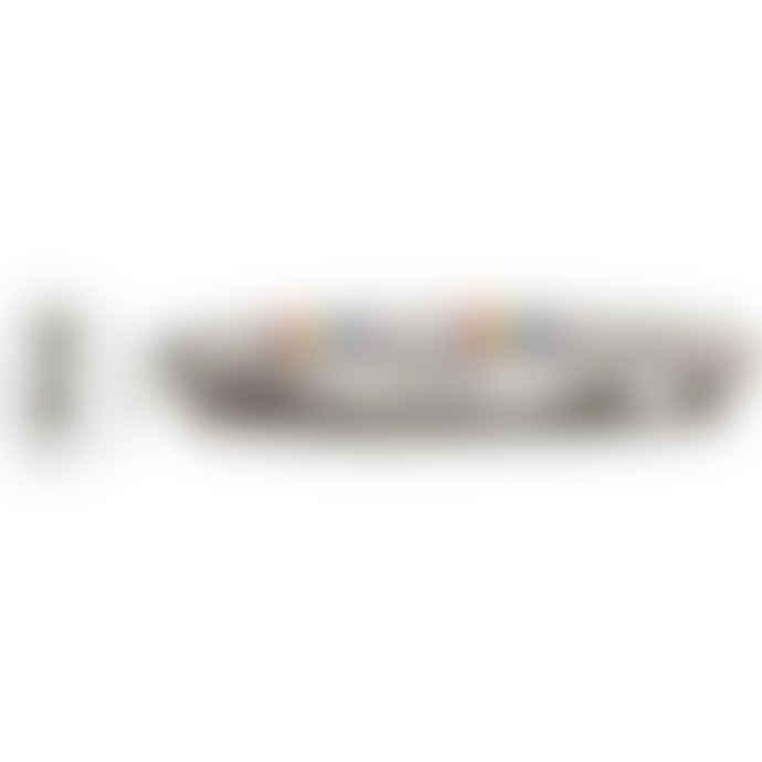 Gladderr Matt G Colors Razor Handle With White Body Shaving Razor Cartridge And Matt Stainless Steel Wall Holder