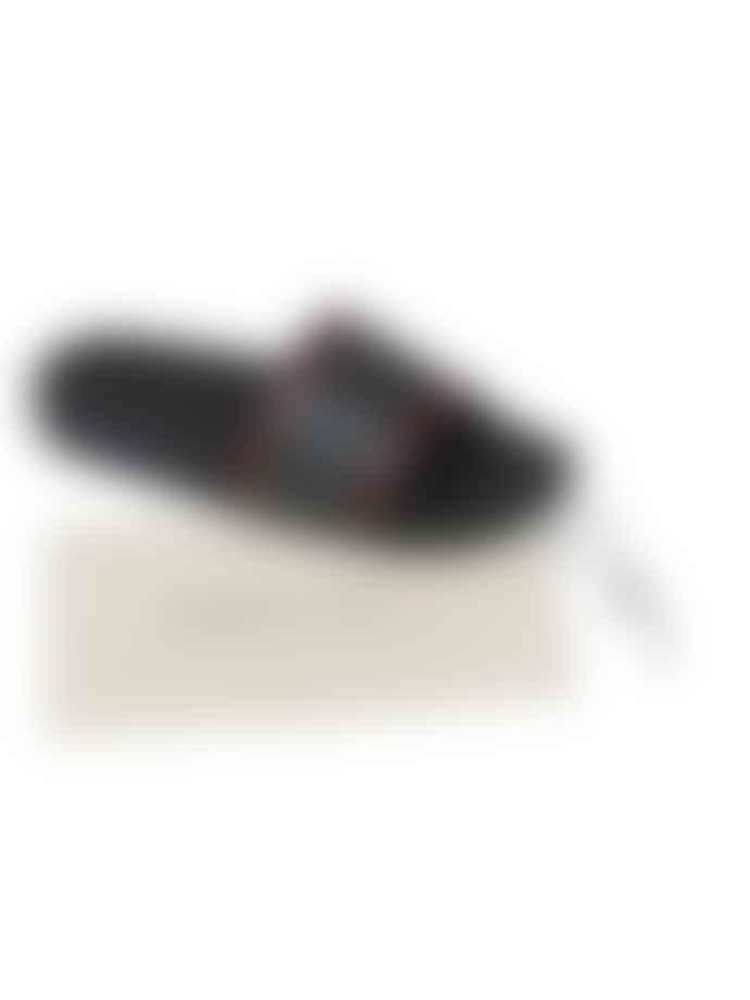 Corneliani Red Slider Shoes