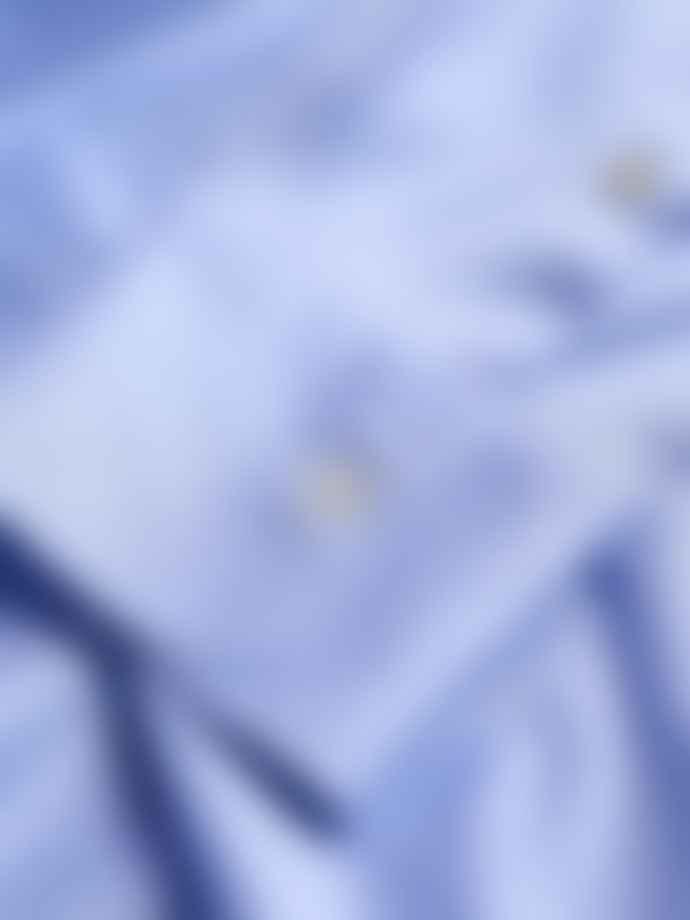 Canali Sky Blue Jersey Shirt