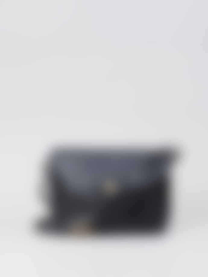 Mimi Berry Black Frank Crossbody Bag