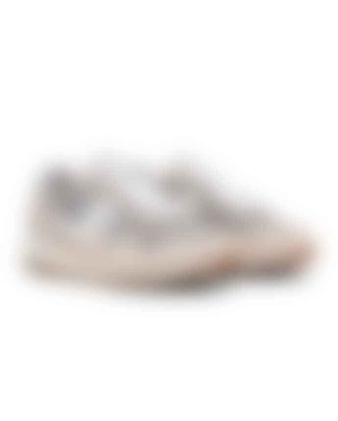 Saucony  Grey And White Mens Shadow 5000 Shoes