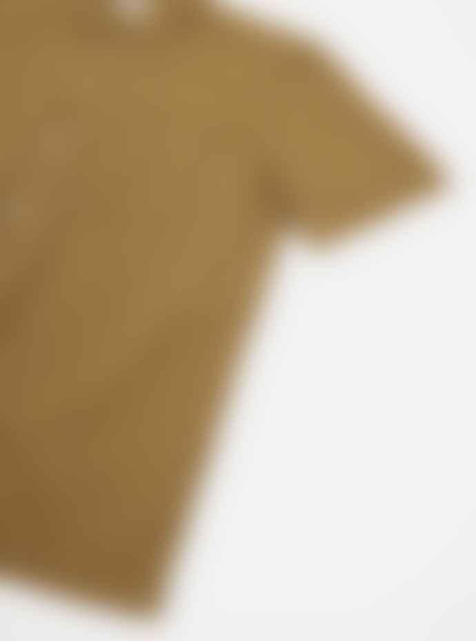 Universal Works Khaki Jacquard Road Shirt
