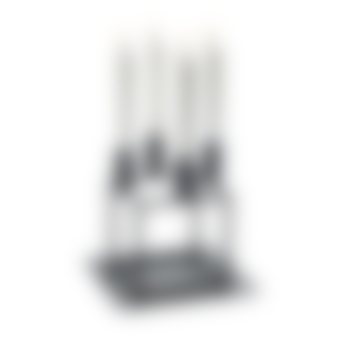 by Lassen Black Base For Cube 4 Candleholder