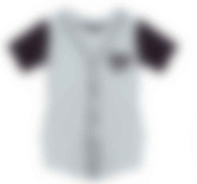 Yporque White & Black Baseball Uniform Dress