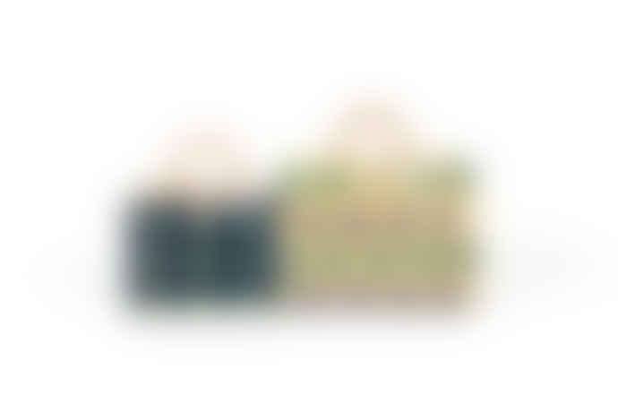 TOINO ABEL Green & Purple Celeste Shoulder Bag