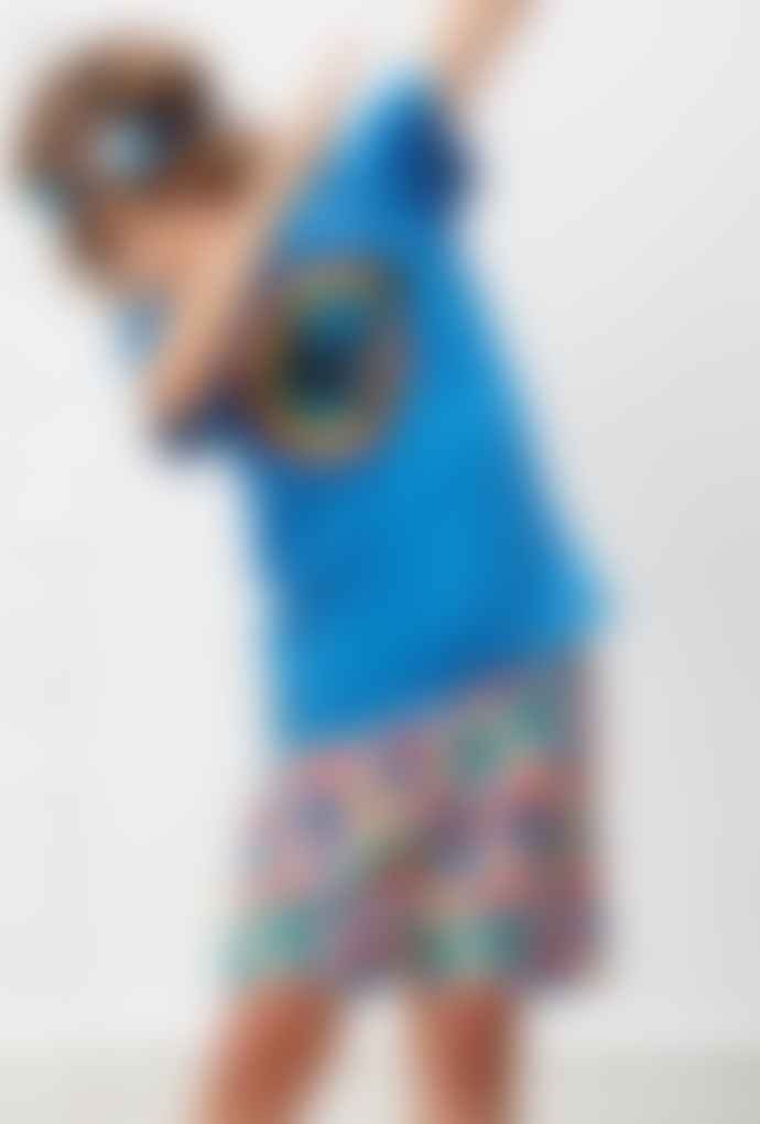 Yporque Blue Surf T-Shirt With Sound