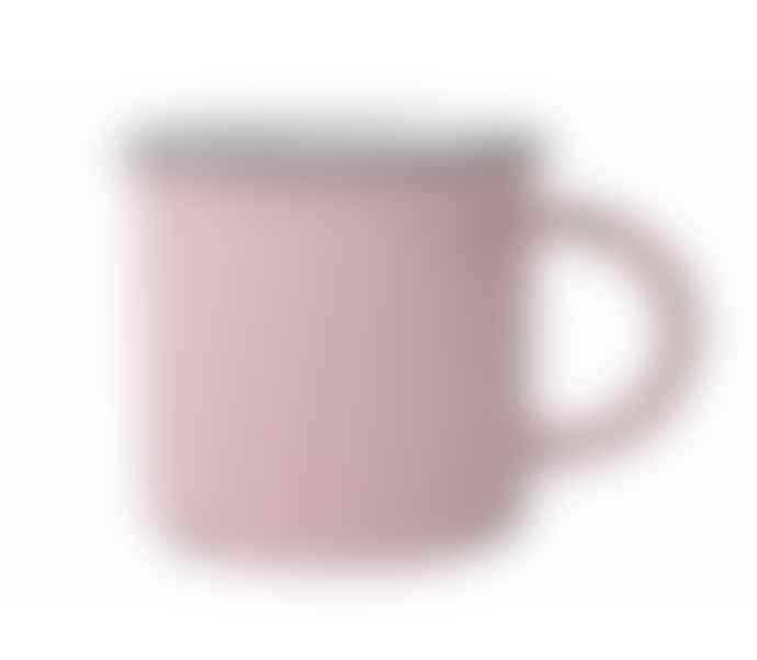 Canvas Home Pink Tinware Effect Stoneware Mug 16oz